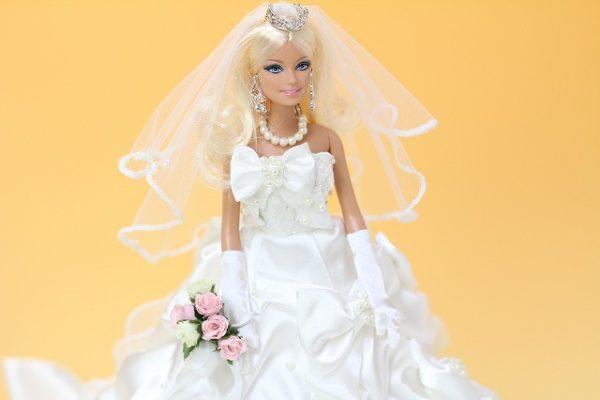 913-8082バービー人形のリアルウェルカムドール