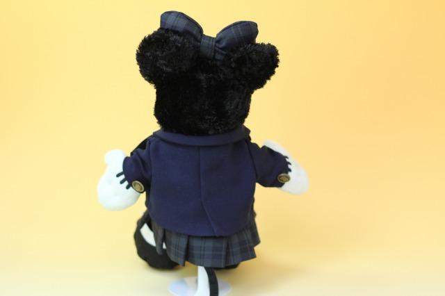 ミニーマウスの制服リメイク3