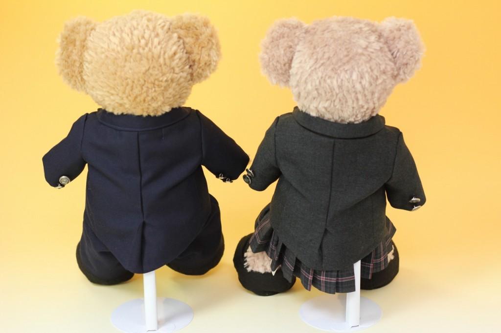 ダッフィー&シェリーメイの制服リメイク