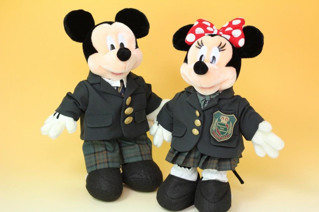 ミッキー&ミニーのウェルカムドール右