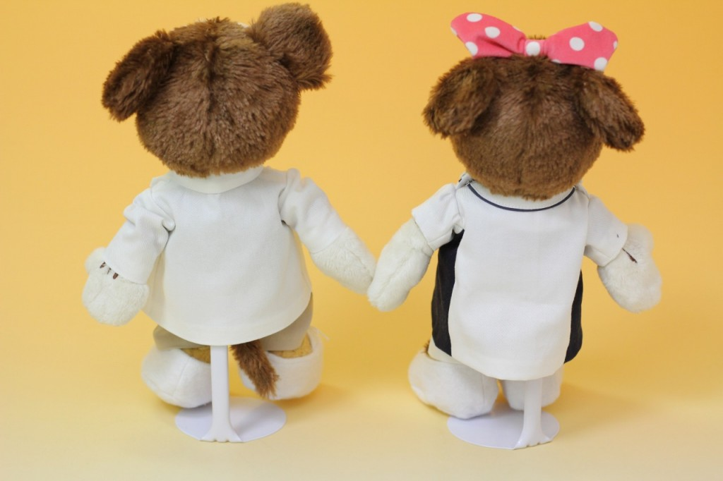 ミッキー&ミニーのウェルカムドール