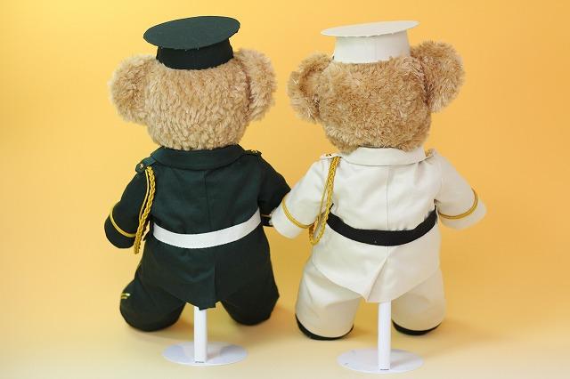 ダッフィー&シェリーメイのウェルカムドール制服後ろ