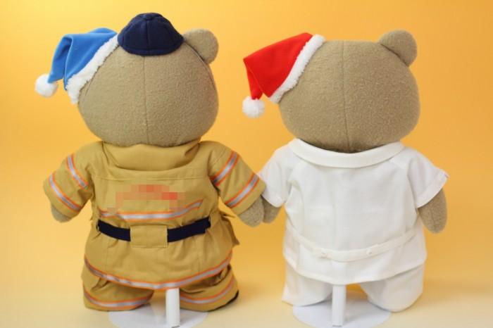 テッドのミニチュア制服