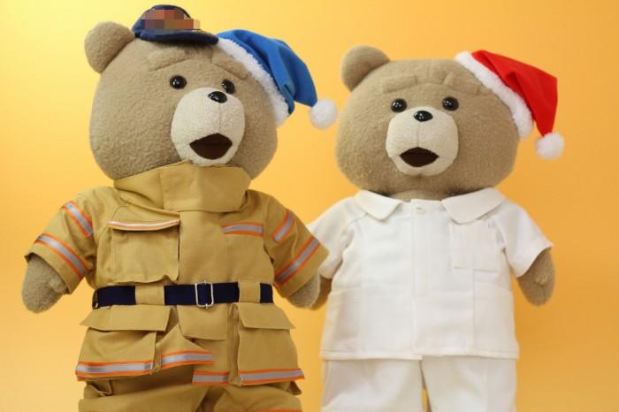 テッドのミニチュア制服左