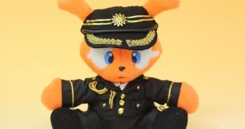 ジャビットのミニチュア制服正面