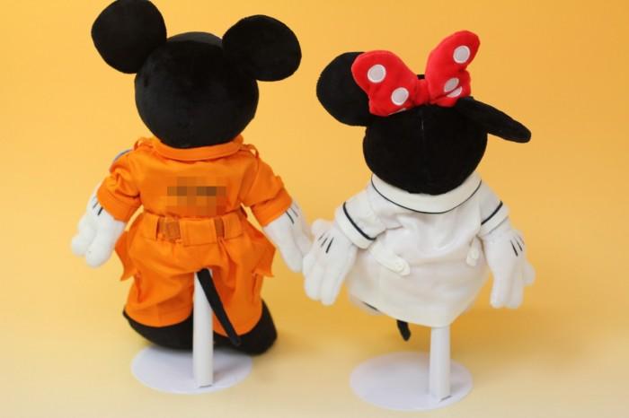 ミッキー&ミニーのミニチュア制服
