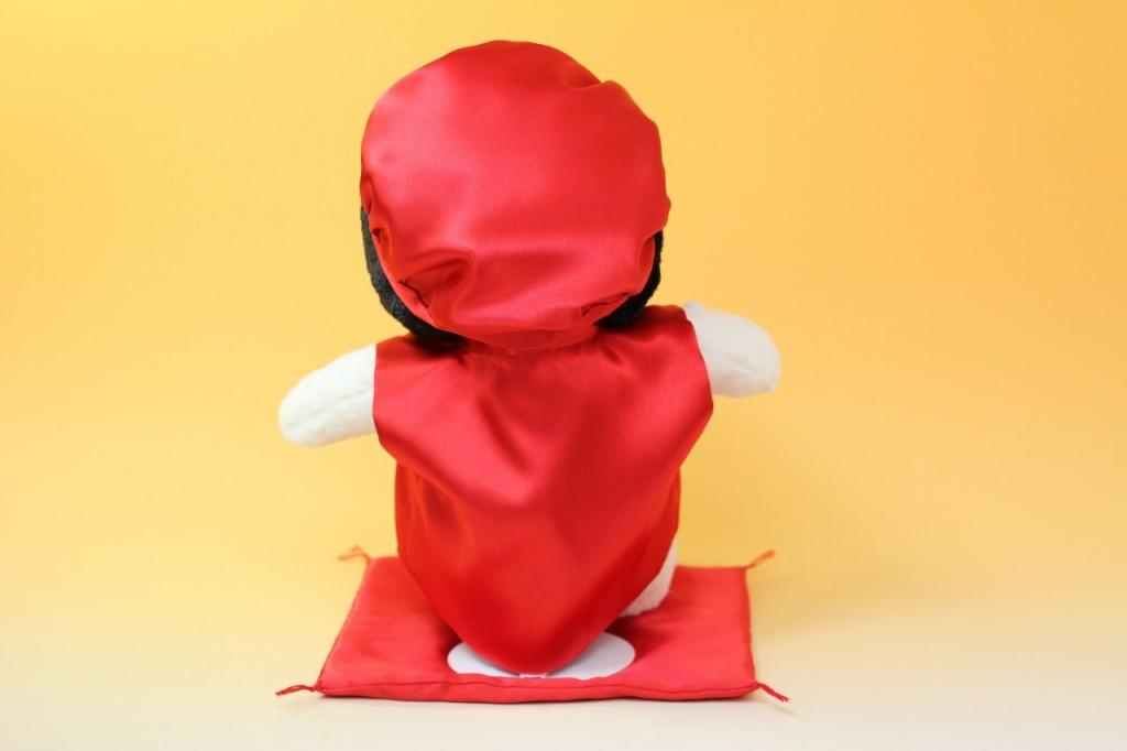スヌーピーの還暦お祝い用赤ちゃんちゃんこ後ろ