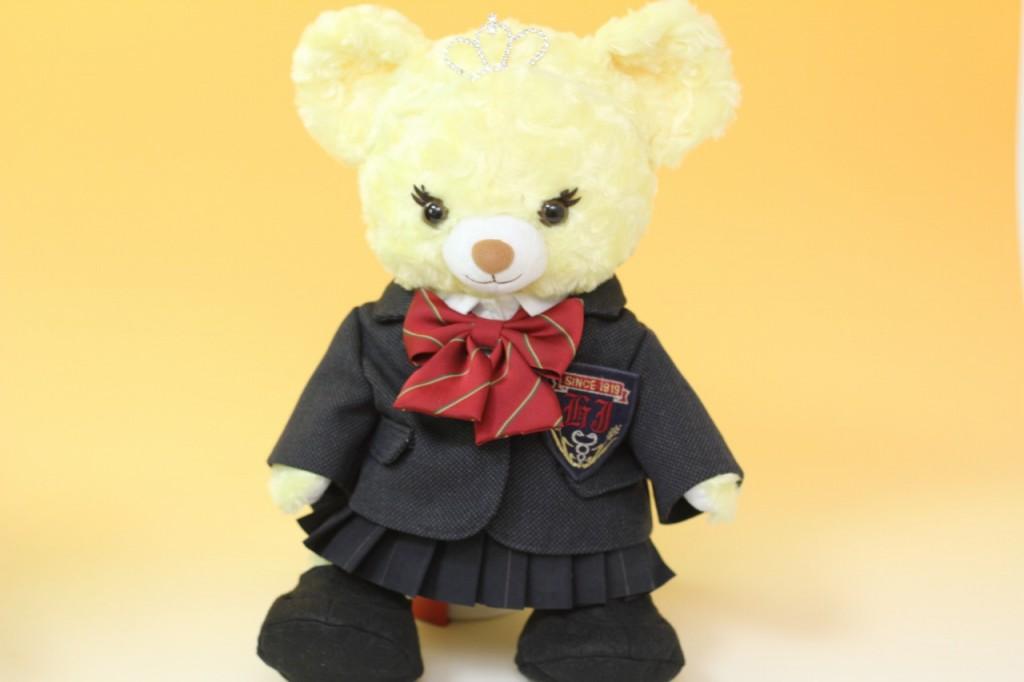 プリンセスベアの制服リメイク2
