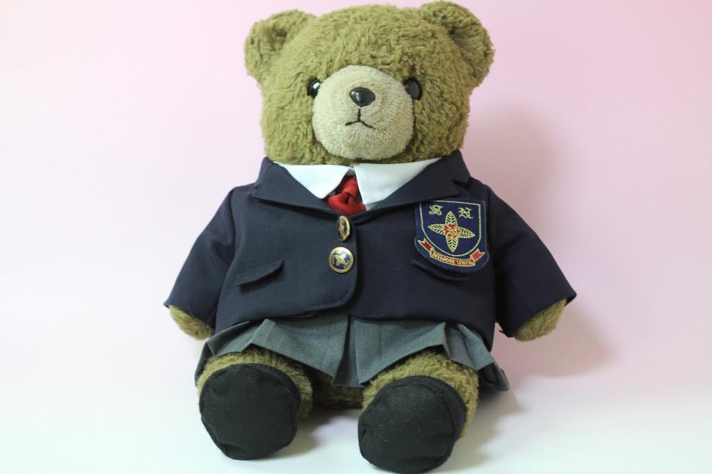 クマ 制服リメイク
