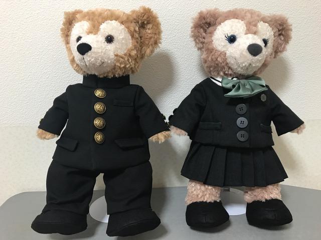 ダッフィー 制服リメイク