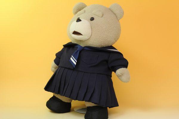 テッドの制服リメイク斜め