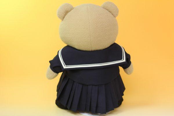 テッドの制服リメイク後ろ