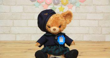 プリンの幼稚園制服正面