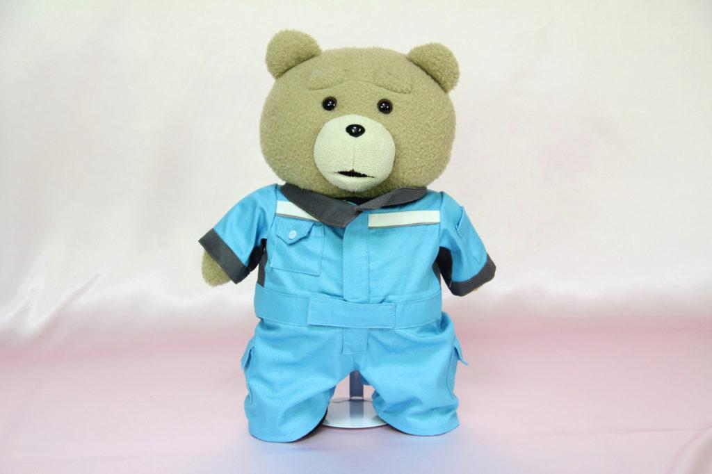 テッドのミニチュア制服正面