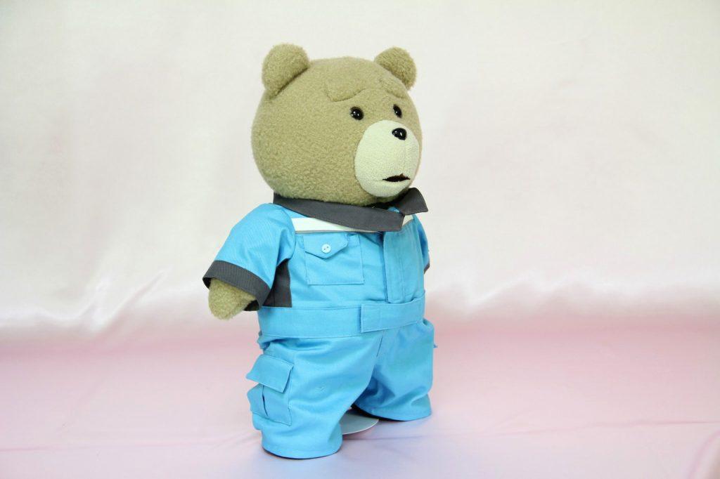 テッドのミニチュア制服右