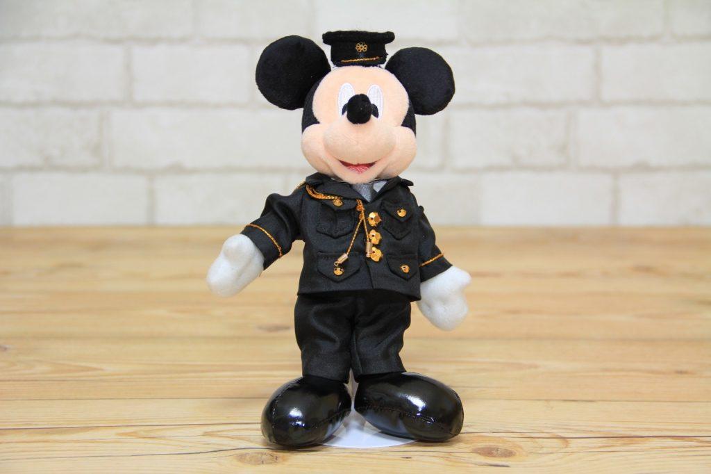 ミッキーのミニチュア制服