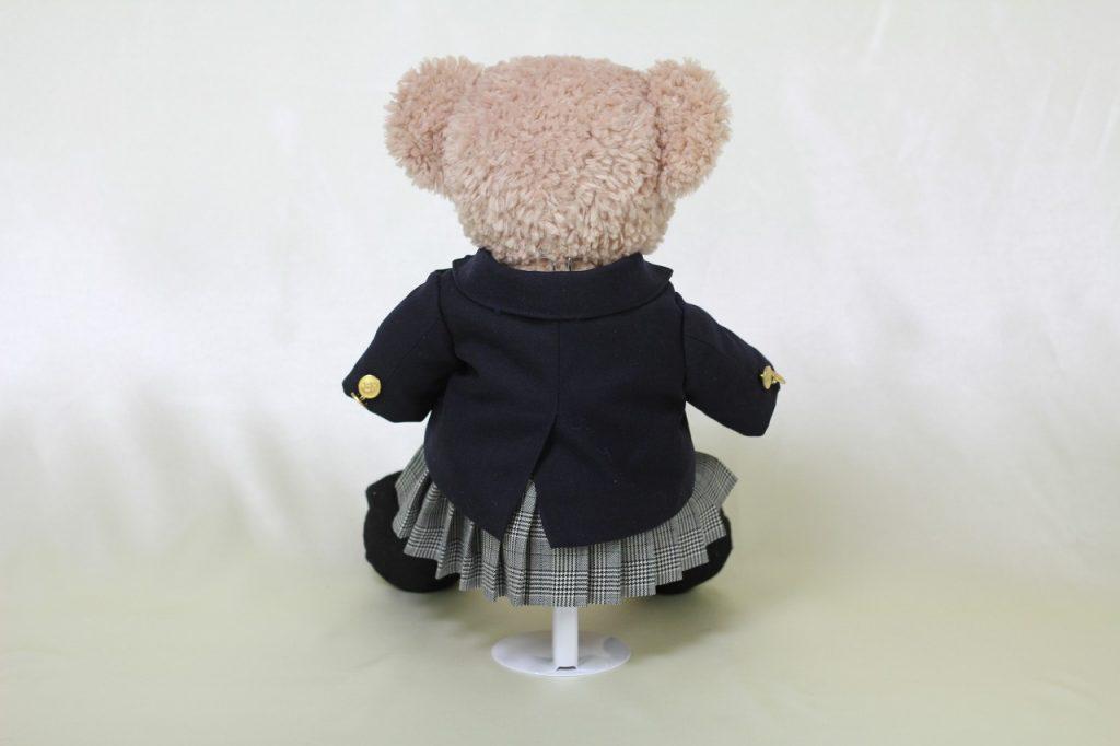 シェリーメイのミニチュア制服後ろ