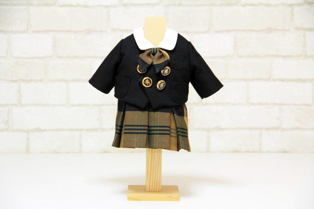 高校制服の「オリジナル木製トルソー」サイズ